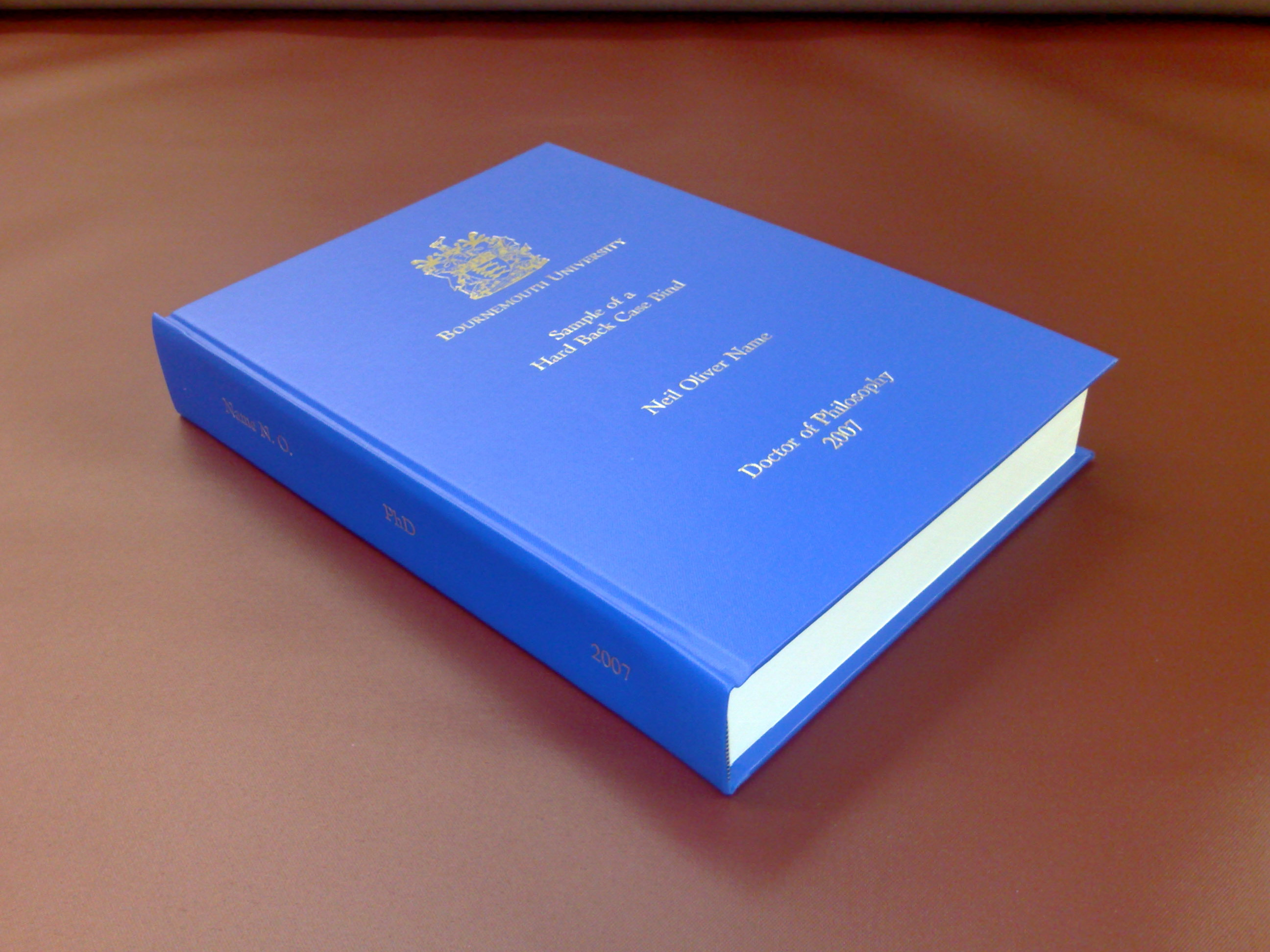 thesis centre binding
